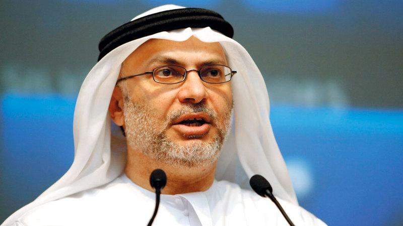 الدكتور أنور قرقاش:  «الحوثي يكرر ممارساته الساعية  لإفشال اتفاق السويد، كما أفشل  محادثات الكويت وجنيف».