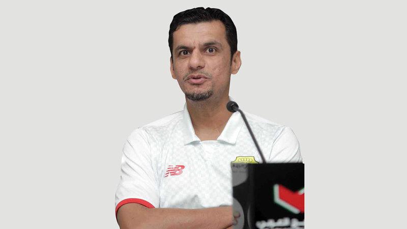 مدرب الوصل السابق حسن العبدولي