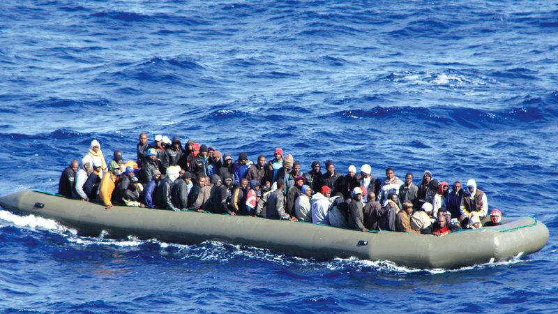 إيطاليا تتعرض لموجات من المهاجرين عن طريق البحر.  أرشيفية