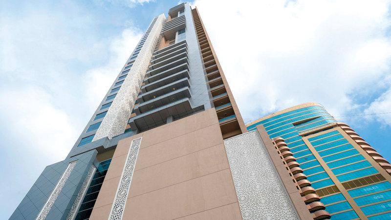 ريع البرج سيخصص بالكامل لدعم الجامعة القاسمية. من المصدر