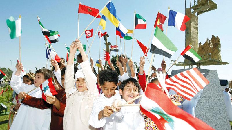 الإمارات تحتضن ما يزيد على 200 جنسية. الإمارات اليوم