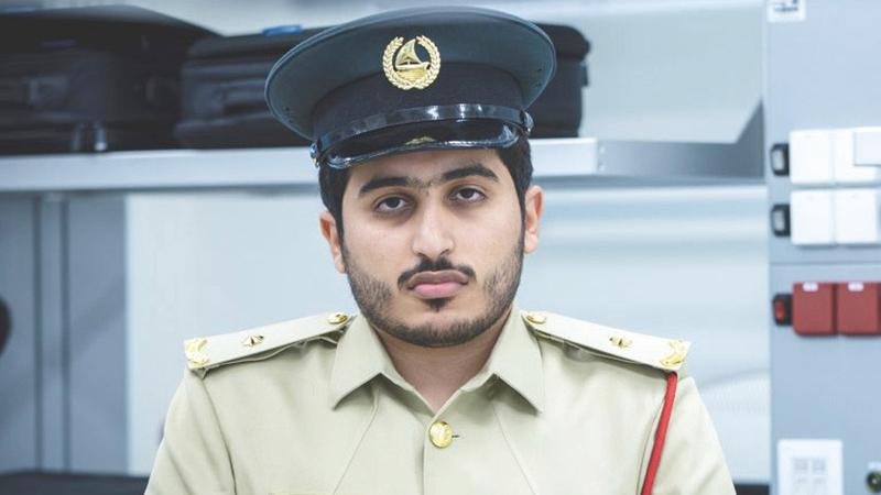 المهندس الملازم ثاني أحمد الكندي. من المصدر