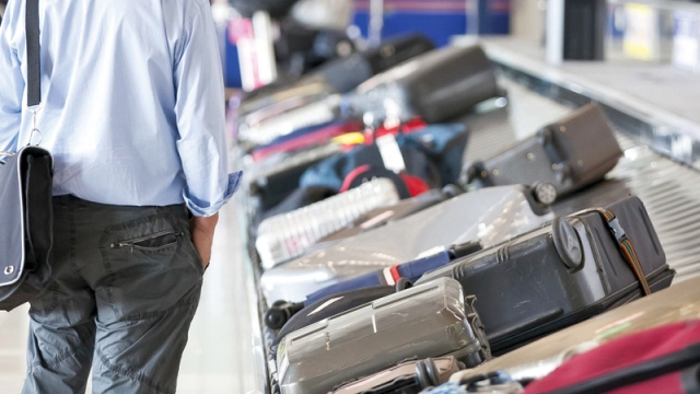 A man and a woman were charged with stealing luggage at