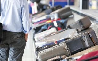 الصورة: ضبط رجل وامرأة متهمين بسرقة حقائب مسافرين في مطار دبي الدولي
