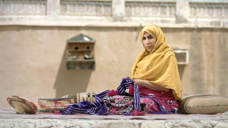 مشهد من الفيلم الإماراتي «ولادة» للمخرج عبدالله حسن. من المصدر