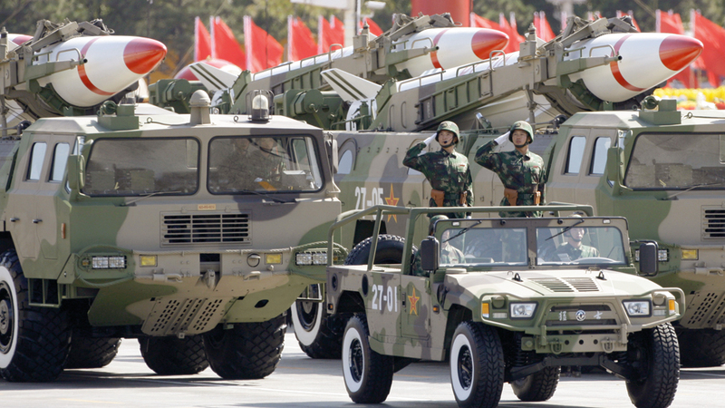 صناعة الصواريخ الصينية شهدت تطوراً كبيراً في السنوات الأخيرة.  رويترز