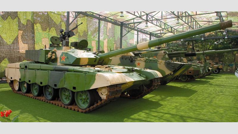 الدبابات الصينية تطورت بشكل ملحوظ.  أرشيفية