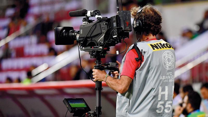 الاتحاد المرتقب يهدف للإسهام في تطوير الإعلام الرياضي. تصوير: باتريك كاستيللو