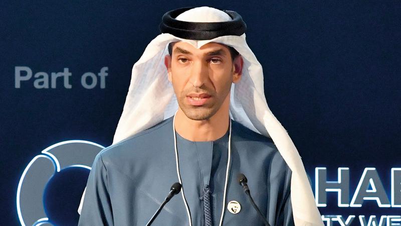 ثاني بن أحمد الزيودي:  «مفتاح النجاح يكمن  في تسريع وتيرة  استثمارات القطاع  الخاص في المشروعات  المستدامة».