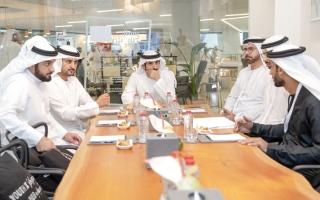 الصورة: حمدان بن محمد: بناء مستقبل دبي مسؤولية الجهات الحكومية والخاصة والمجتمع