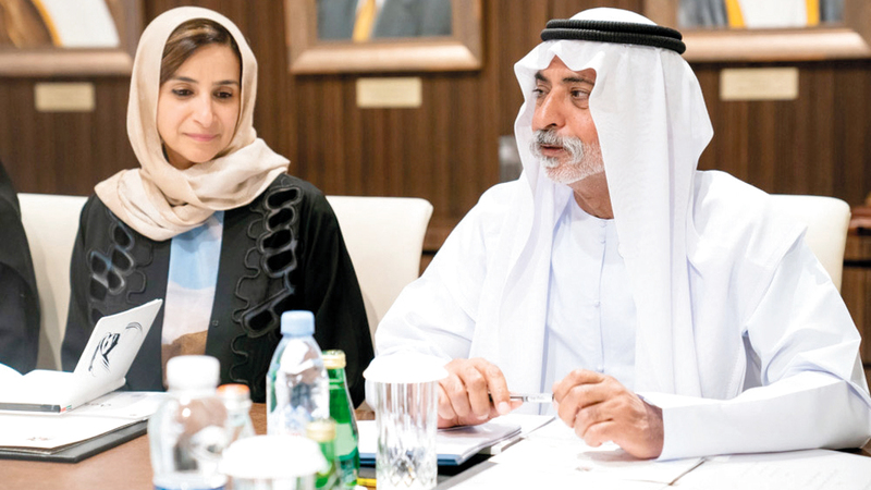 نهيان: زايد أرسى نهج التسامح في دولة الإمارات.  من المصدر