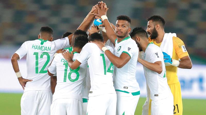 المنتخب السعودي يواجه اليابان غداً. من المصدر