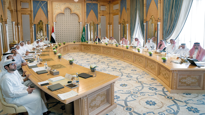 اللجنة تؤدّي مهمة تاريخية لتقديم نموذج ناجح للتكامل الثنائيّ بين الدول. من المصدر