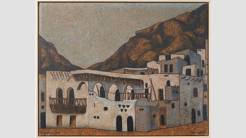 أعمال لؤي كيالي تعدّ من بين الأغلى عربياً. أرشيفية