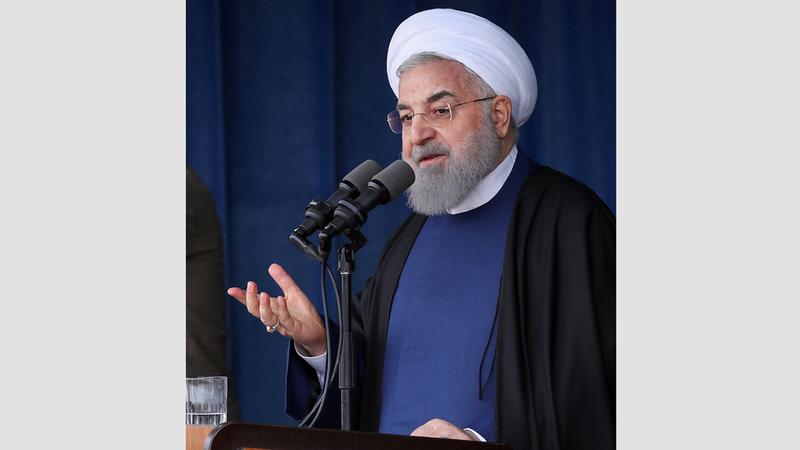 الرئيس الإيراني عيّن صهره في منصب رفيع. إي.بي.إيه