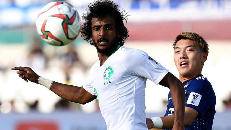 ياسر الشهراني: الأخضر قدّم أفضل مبارياته في البطولة الآسيوية أمام اليابان. تصوير: باتريك كاستيلو