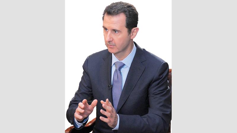 بشار الأسد ليس مثل أبيه في التعامل مع الأزمات. غيتي