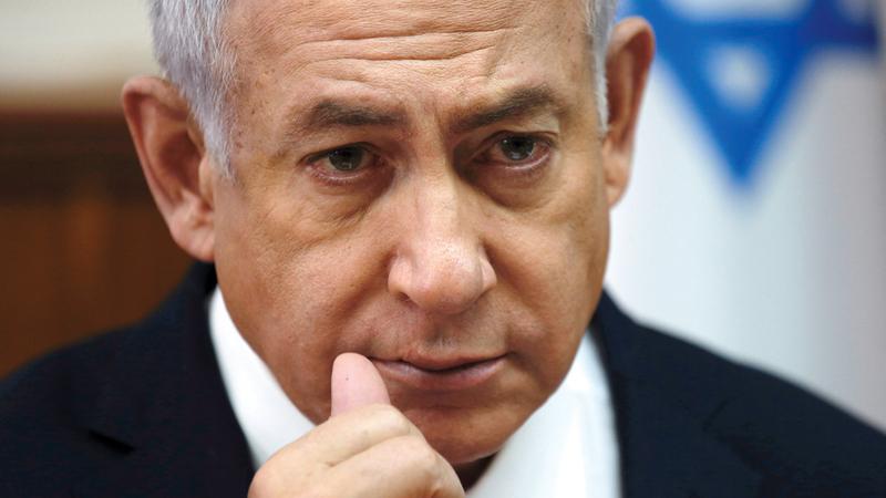 نتنياهو ضغط على الإدارة الأميركية من أجل الحصول على اعتراف منها بضم إسرائيل للجولان.  أرشيفية