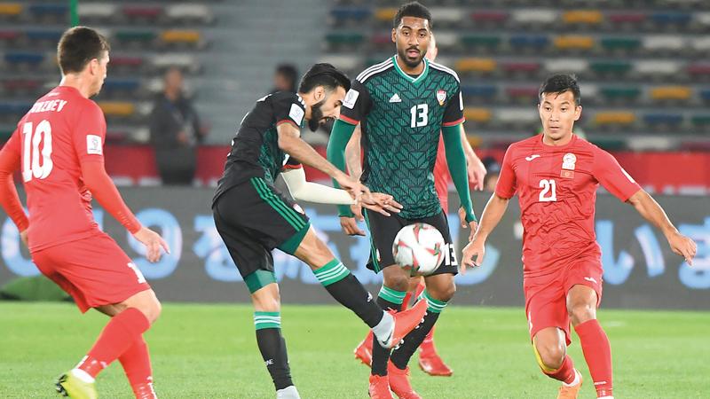 المنتخب فاز على قيرغيزستان 3-2. تصوير: إريك أرازاس