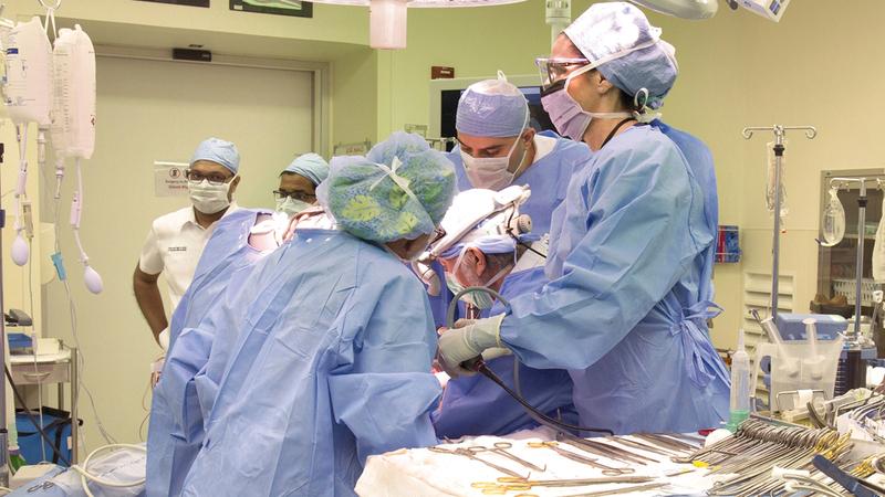 الدولة حققت تقدماً كبيراً على صعيد جراحات زراعة الأعضاء. أرشيفية