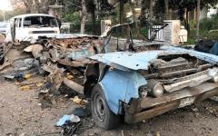 الصورة: مقتل 3 في سلسلة انفجارات شمال سورية.. وتفجير سيارة مفخخة بدمشق