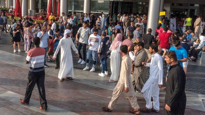 الإمارات تضم 200 جنسية.. تشكل معاً مجتمعاً عالمياً. تصوير: أشوك فيرما