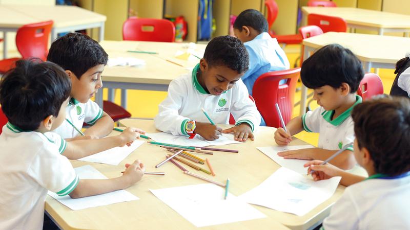 فرق التقييم شاهدت 12 ألف حصة دراسية خلال التقييم. من المصدر