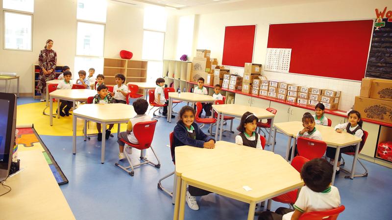 المقيمون يقضون نحو أربعة أيام في كل مدرسة لتحديد مستوى الفاعلية الشاملة لها.  من المصدر
