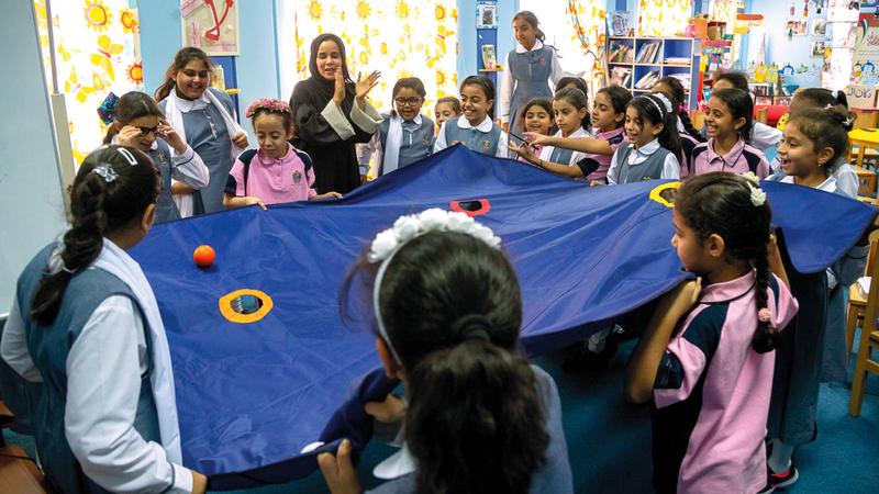 «تنمية المجتمع» في دبي تعمل على وضع منظومة متكاملة لحماية حقوق الطفل. من المصدر