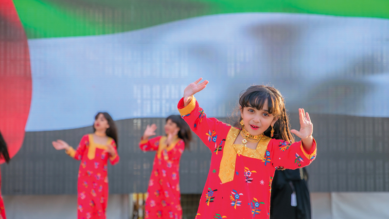 فعاليات المهرجان جمعت بين التراث المحلي والعالمي. من المصدر