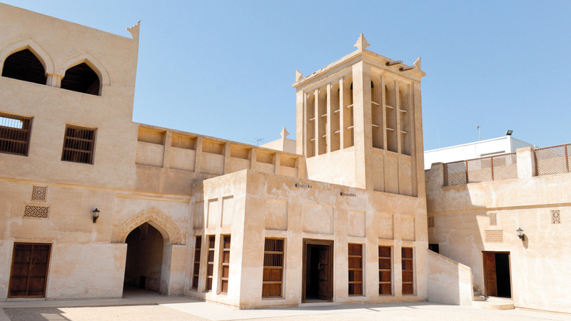 المحرق اختيرت العام الماضي عاصمة للثقافة الإسلامية. أرشيفية