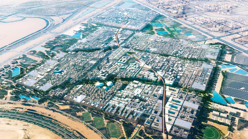 مدينة مصدر في أبوظبي. من المصدر