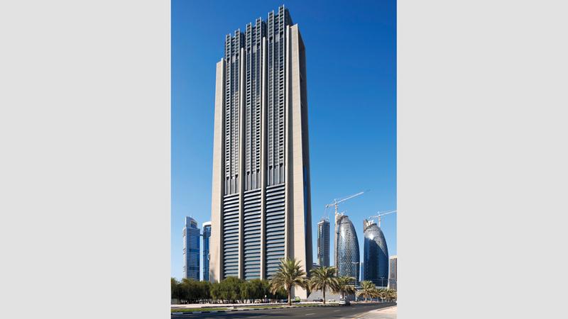 «إندكس تاور» في دبي. من المصدر