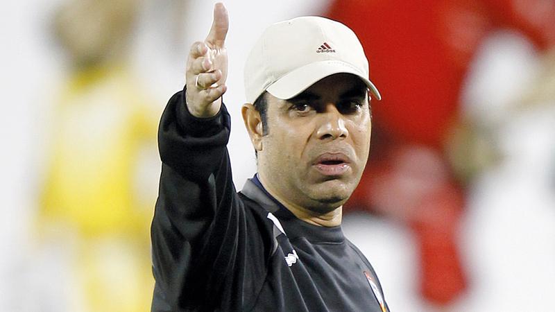 مدرب المنتخب السابق مهدي علي. الإمارات اليوم