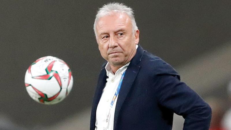 المدرب الإيطالي ألبيرتو زاكيروني. الإمارات اليوم