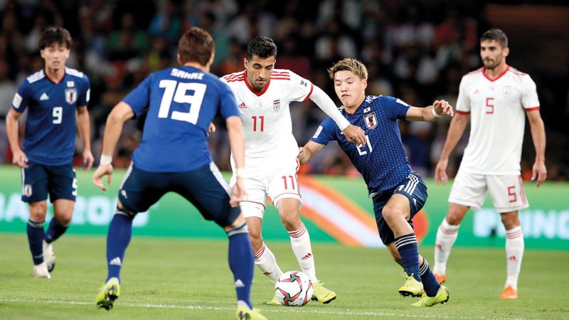 منتخب اليابان الأبرز في كأس آسيا 2019. أي.بي.إيه