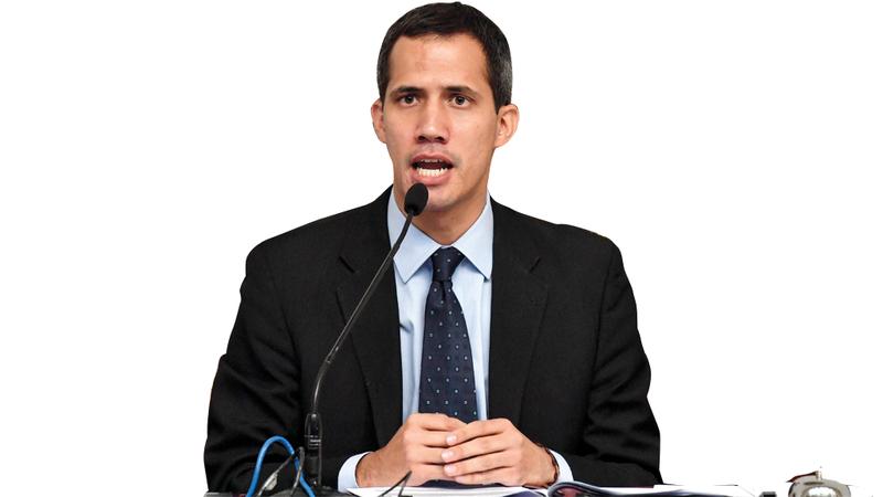 خوان غوايدو: مادورو لا يحمي فنزويلا ولا يحمي استثمارات أحد.  أ.ف.ب