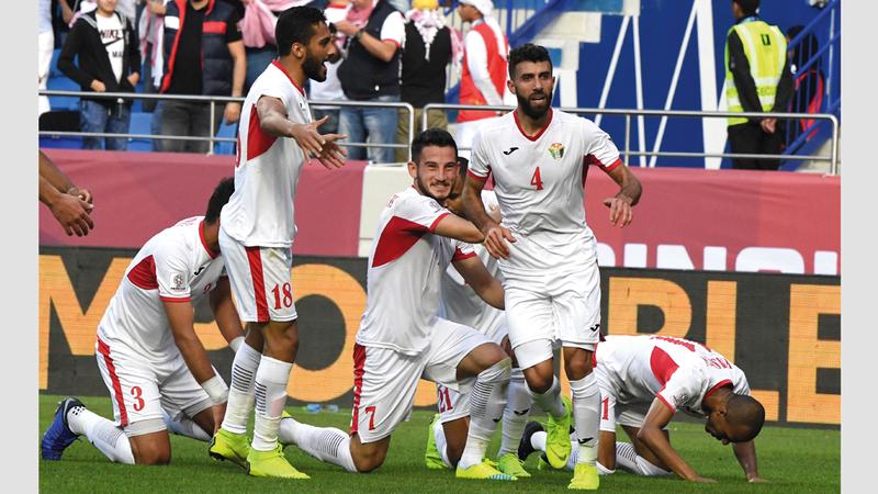 المنتخب الأردني تشارك مع الأوزبكي بأكثر الفرق تسجيلاً للأهداف في الشوط الأول. الإمارات اليوم