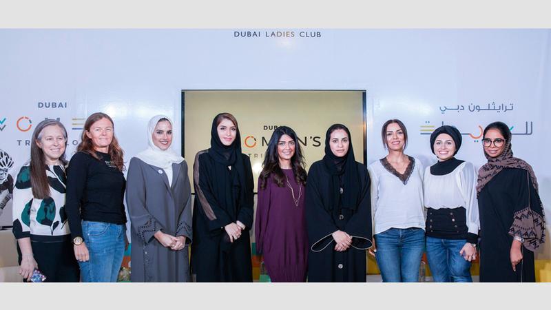 مديرة «دبي للسيدات» أكدت إيلاء النادي أهمية لتمكين المرأة. الإمارات اليوم