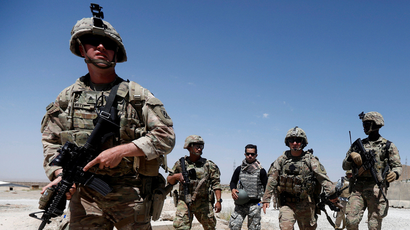 جنود أميركيون في قاعدة بأفغانستان. رويترز