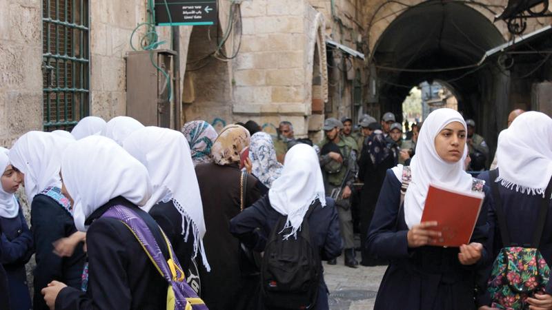 مستقبل طلبة القدس مهدد بالخطر