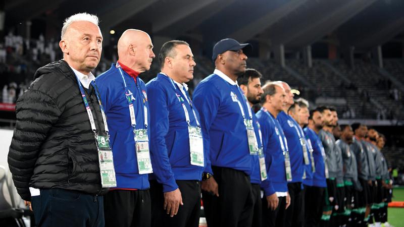 عبدالله صالح قال إن عناد المدرب الإيطالي زاكيروني أثر سلباً في مستوى الانضباط في المنتخب.  الإمارات اليوم
