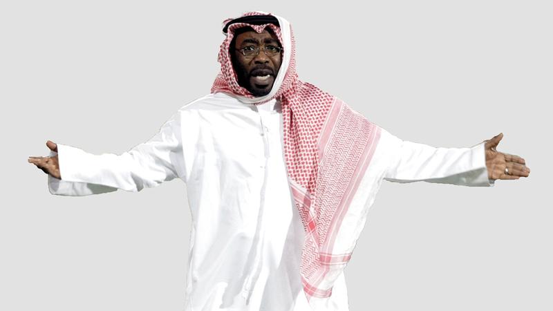 مشرف المنتخب الوطني السابق عبدالله صالح.  تصوير: أسامة أبوغانم