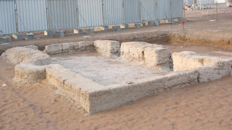 المبنى يعتبر أقدم مسجد معروف في الإمارات. وام