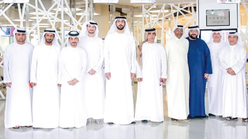 برنامج قيادات حكومة الإمارات خلال إطلاق المبادرة. من المصدر