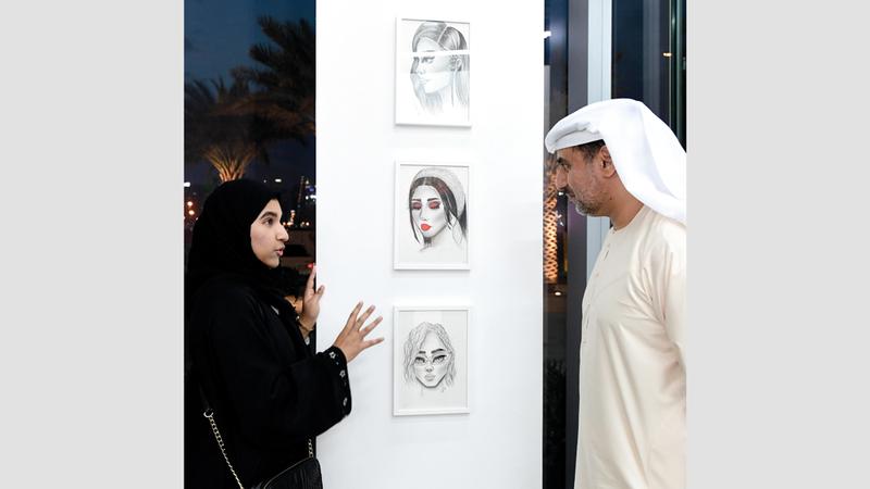 فكرة المعرض مرتبطة بالتسامي والتسامح. من المصدر