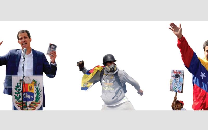 الصورة: غرافيك.. الأزمة السياسية في فنزويـــــــلا تهدِّد بتفجر حرب أهلية