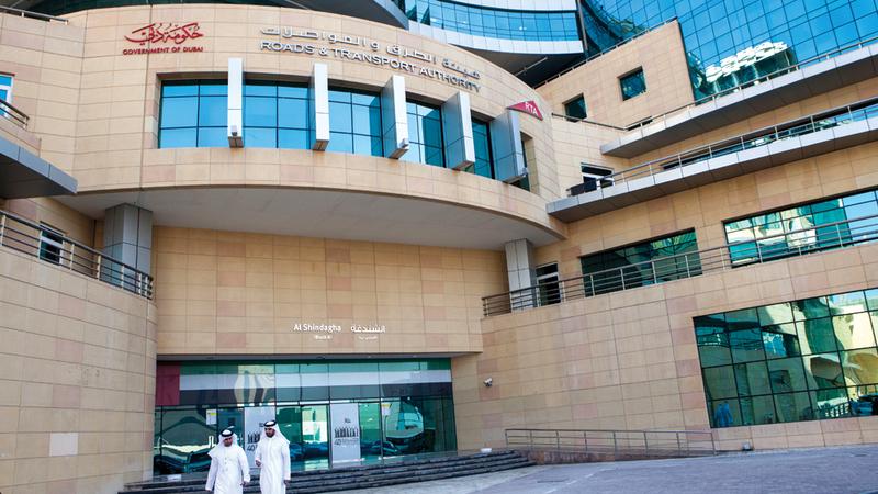 «الهيئة» جدّدت حرصها على تطوير شبكة المواصلات بما يتناسب وتوسع العمران في دبي. الإمارات اليوم