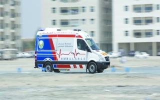 """""""الإسعاف الوطني"""" يوضح سبب عدم إسعاف طفل إلى مستشفى بالشارقة"""