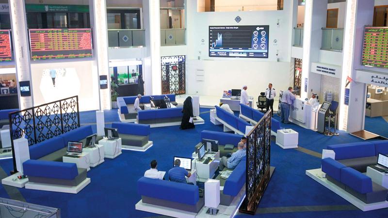 مؤشر سوق دبي تراجع خلال تعاملات الأسبوع الماضي بنسبة 0.97%. تصوير: أشوك فيرما